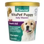 狗狗保健用品-NaturVet天然寶-幼犬維他命保健品-70粒-N3686-營養保充劑-寵物用品速遞