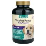 狗狗保健用品-NaturVet天然寶-幼犬長效營養丸-60粒-N3020-營養保充劑-寵物用品速遞