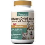 貓犬用保健用品-NaturVet天然寶-酵母大蒜丸-100粒-N3110-貓犬用-寵物用品速遞