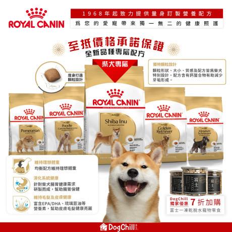 DogChill瘋狂犬-狗糧我至抵-最愛瘋狂寵物用品速遞-狗糧-狗尿墊-狗尿片-狗零食-貓狗糧至抵保證-RoyalCanin柴犬專屬糧 Monica