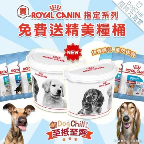 DogChill瘋狂犬-狗糧我至抵-最愛瘋狂寵物用品速遞-狗糧-狗尿墊-狗尿片-狗零食-貓狗糧至抵保證-RoyalCanin指定系列送新糧桶 Wendy